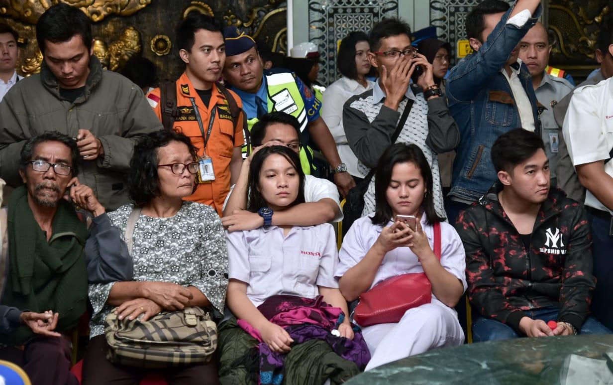 Suasana Keluarga Korban Lion Air JT610