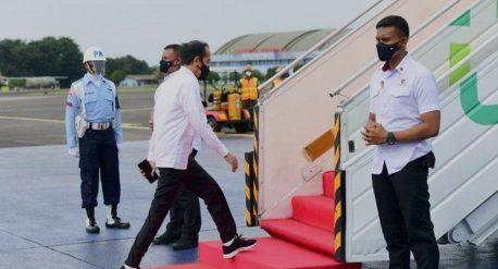 Jokowi Kunjungan Kerja Ke Riau