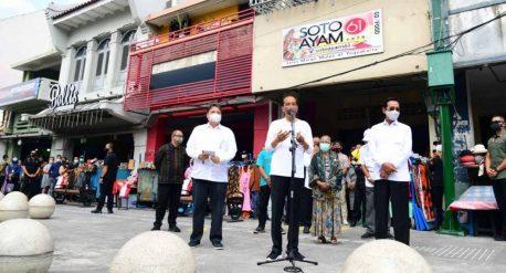 Presiden Jokowi Malioboro