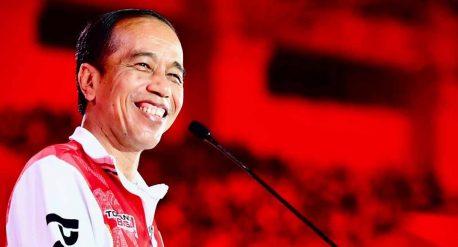 Presiden Jokowi membuka PON XX Papua 2021